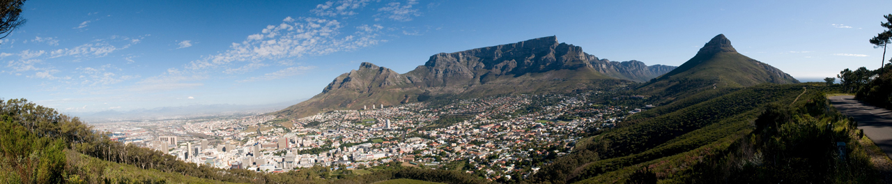Table Mountain - Blick vom Signal Hill - Cape Town
